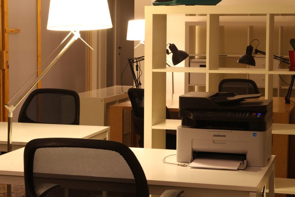 Coworking-scrivania
